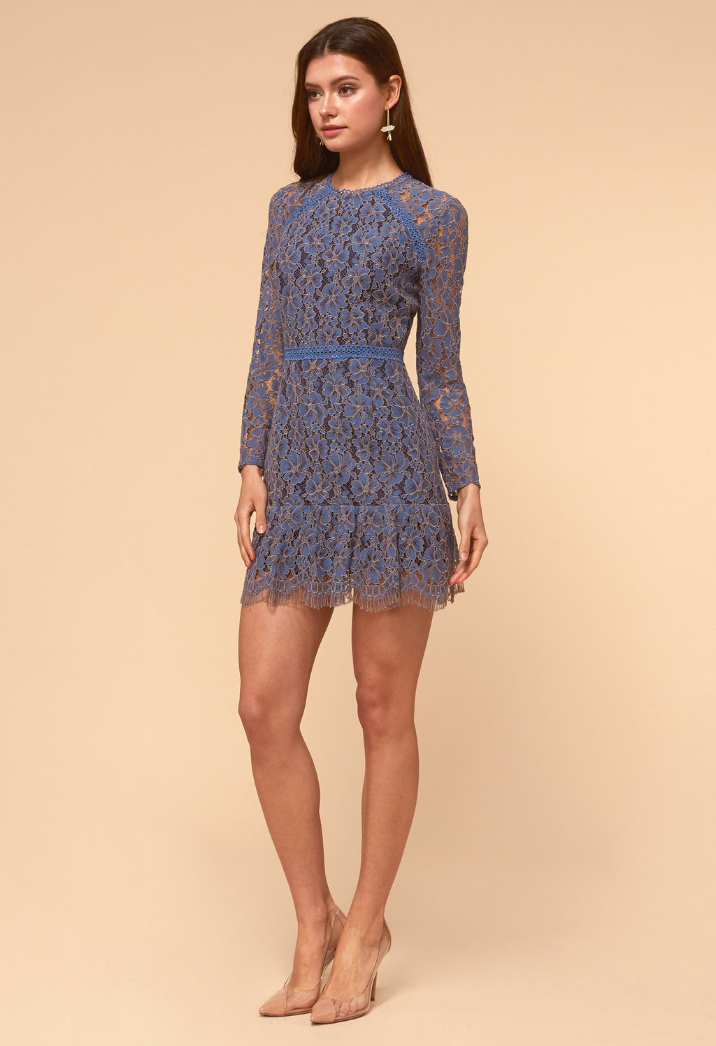 Alicia Lace Long Sleeve Dress