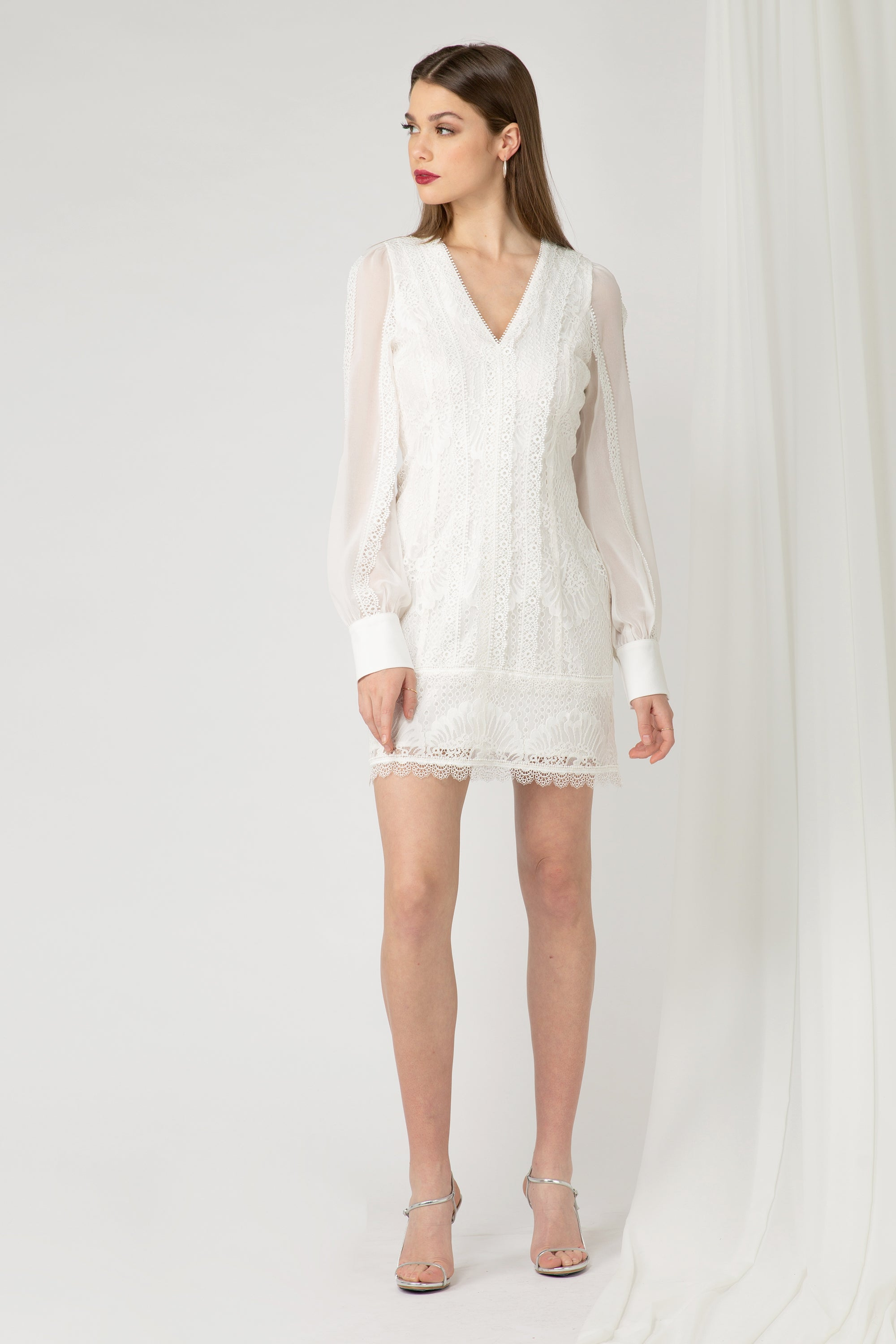 Kori Mixed lace Dress