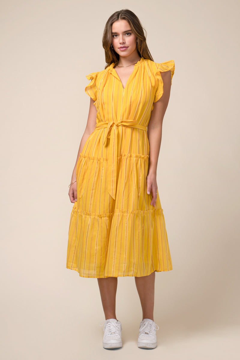 Nina Cotton Midi Dress