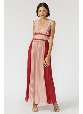 Elliott Pleated Dress