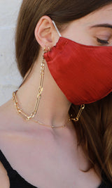 Gold chain Lanyard Necklace