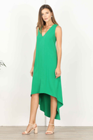 Phoebe Hi-Low Shift Dress