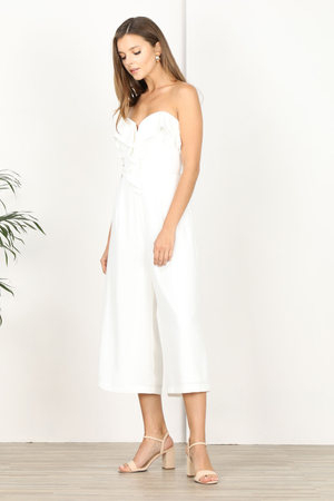 Ashe Strapless Culottes