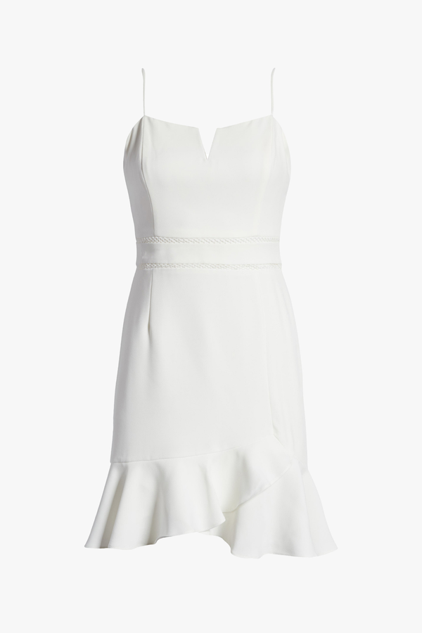 Charlie white Mini Dress