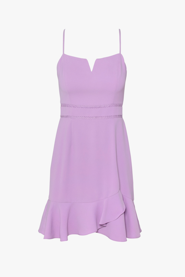 Charlie lavender Mini Dress