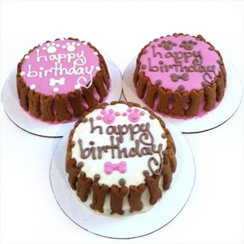 Classic Birthday Cakes (Pink)