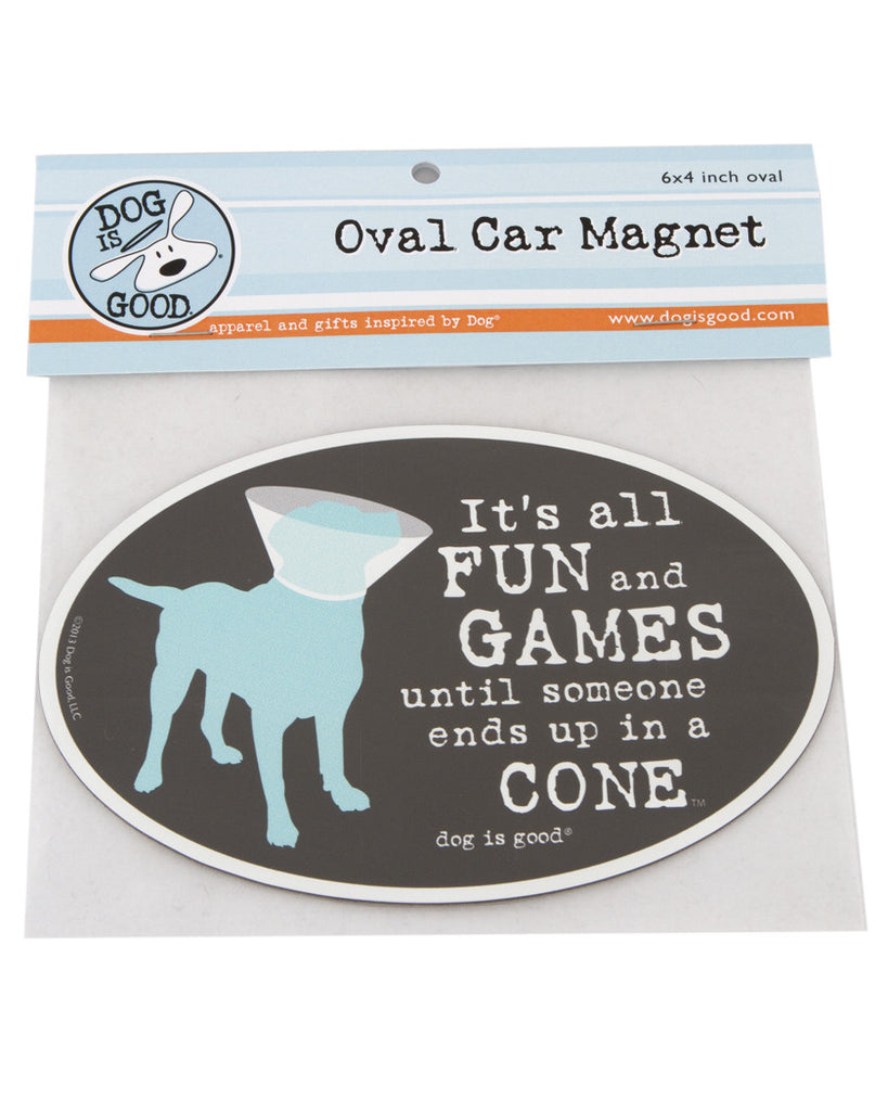It's All Fun and Games Car Magnet
