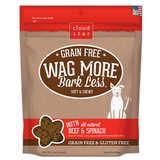 Wag More Bark Less Soft & Chewy Treats: Grain Free Beef & Spinach
