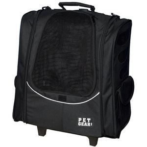 Escort Pet Carrier Backpack with Wheels