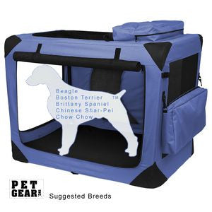 Deluxe Portable Soft Crate 30""