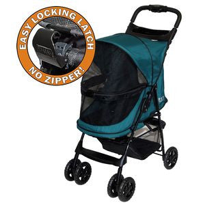 """No Zip"" Happy Trails Pet Stroller (3 Colors Available)"