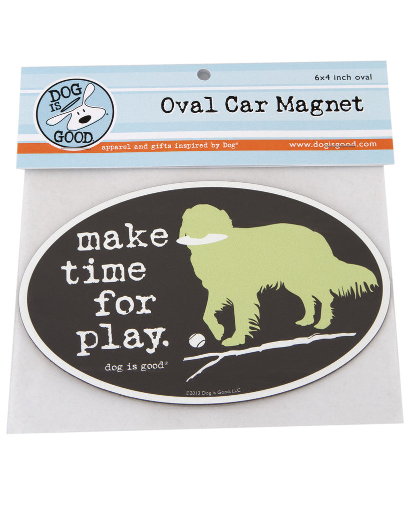 Make Time for Play Car Magnet