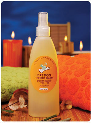 HappyTails Dry Dog Bath Replacement Spray