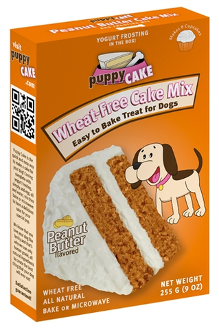 Puppy Cake Peanut Butter Mix (Wheat Free) and Frosting