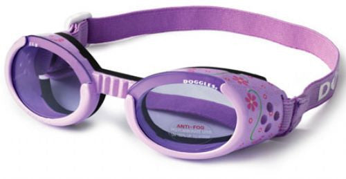 Doggles Purple Flowers