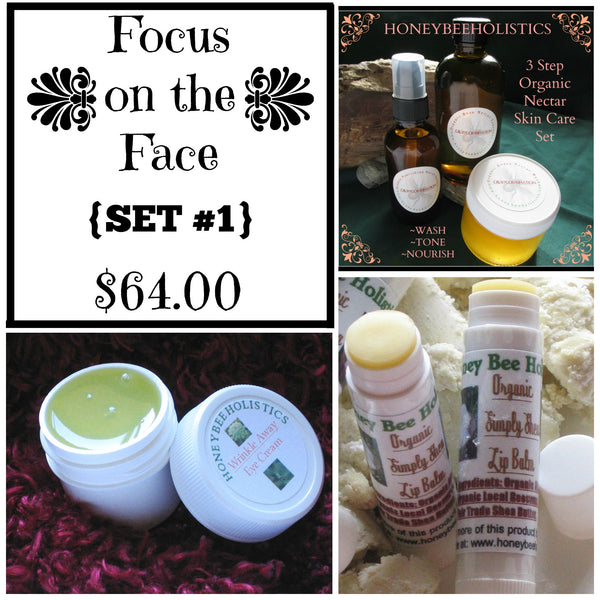 Focus on the Face Set #1