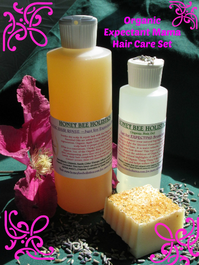 Organic Expectant Mama Hair Care Set