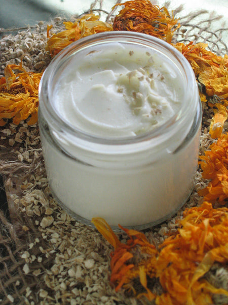 Organic Marshmallow Honey Face Cream