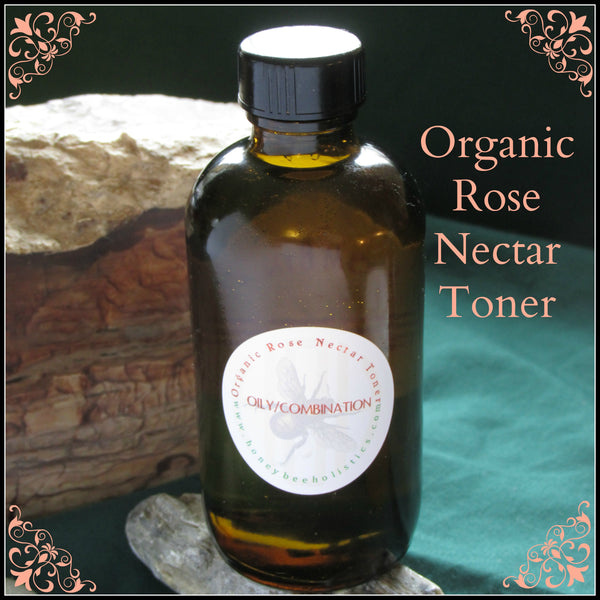 Organic Nectar Rose Toner - Customizeable