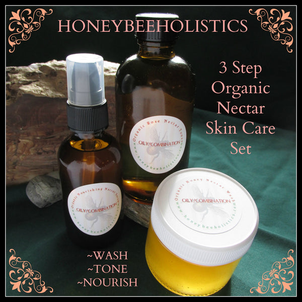 Organic Nectar 3 Step Skin Care Set