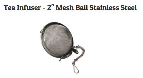 "Stainless Tea Infuser - 2"" Mesh Ball"