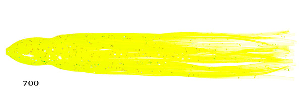 0700 Solid Yellow (Hologram Glitter Top Coat)