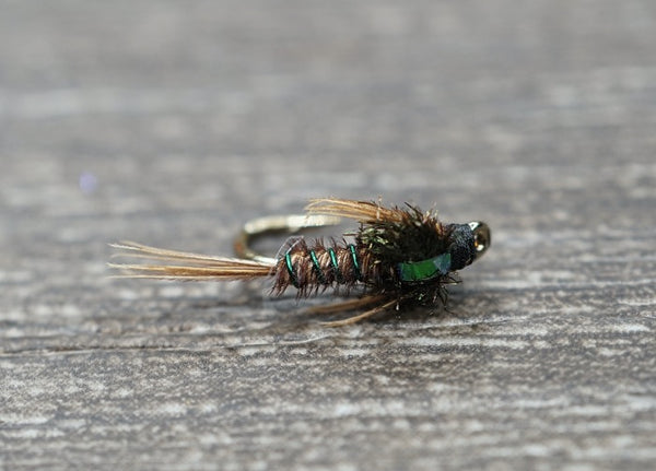 Green Wire Pheasant Tail
