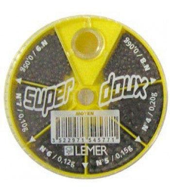 Super Doux Lemer Split Shot- Yellow Container