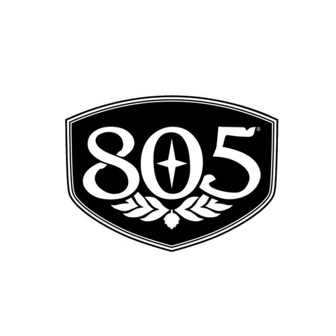 805 Shield Sticker