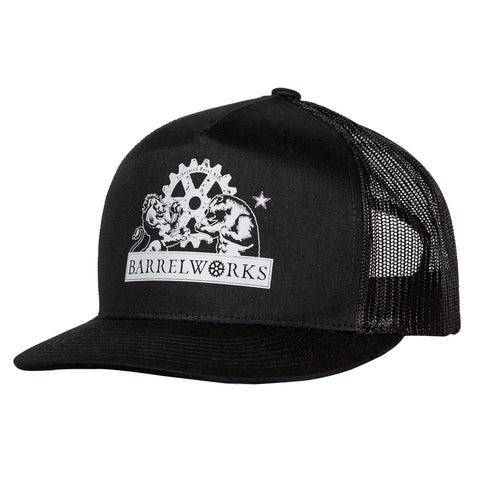Barrelworks Snapback Black Hat