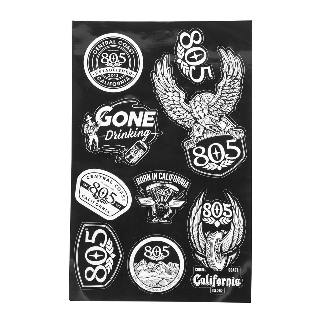 805 Variety Sticker Pack
