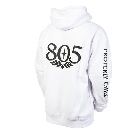 805 Properly Chill White Pullover