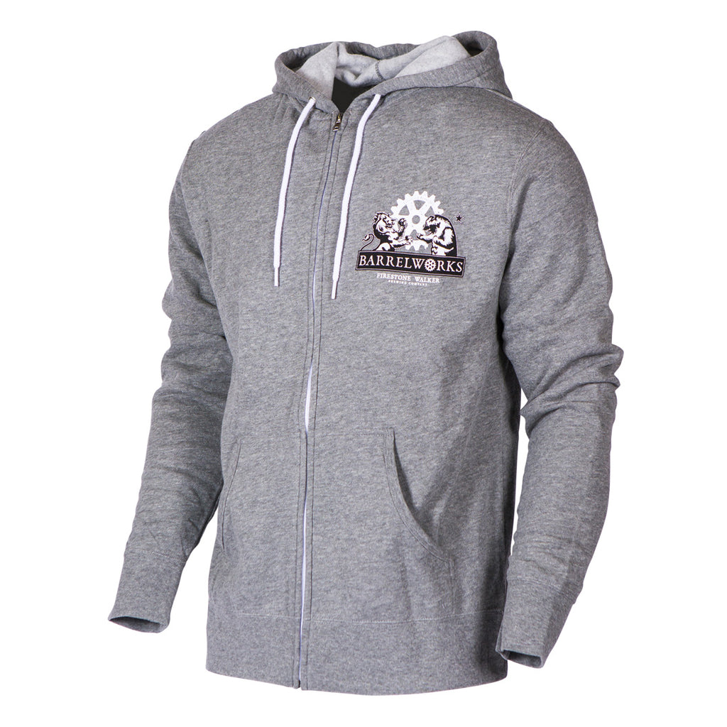 Barrelworks Metal Grey Zip