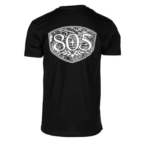 805 Checks Logo Tee