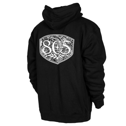805 Checks Logo Pullover
