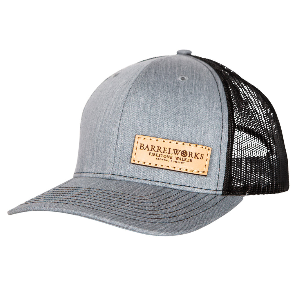 Barrelworks Leather Patch Hat