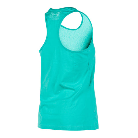 Firestone Walker Ladies Brand Teal Tank