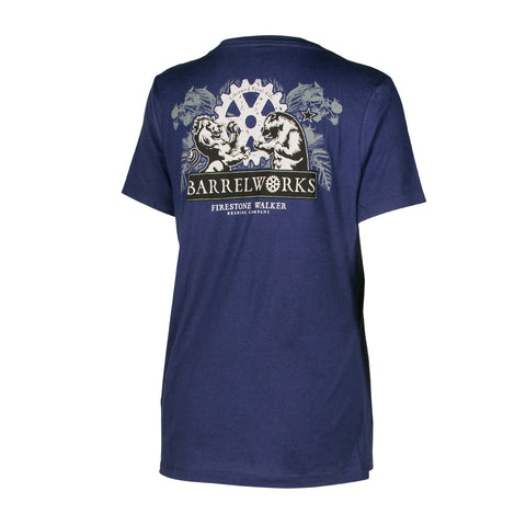 Barrelworks Ladies Floral V-Neck
