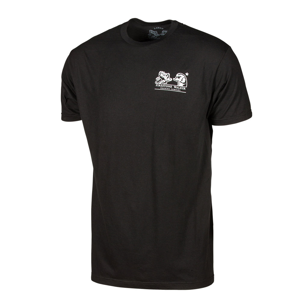 Firestone Walker Brand Black Tee