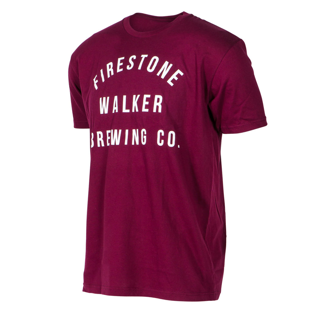 Firestone Walker Campus Maroon Tee