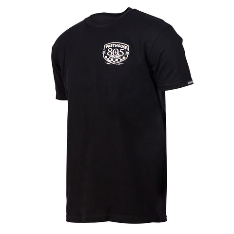 805 X Fasthouse Pitstop Black Tee