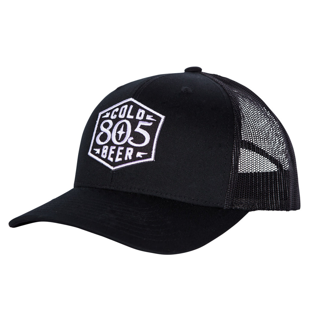 805 Cold Beer Badge Hat
