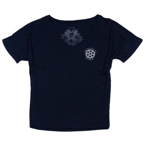 Ladies Barrelworks V-Neck Tee