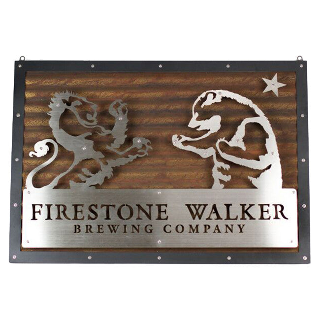 Firestone Walker Lion and Bear Corrugated LED