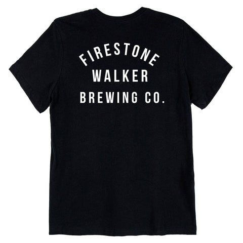 Firestone Walker Ladies Campus Black Tee