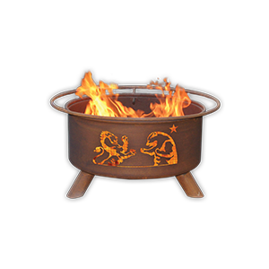 Firestone Walker Lion and Bear Outdoor Fire Pit