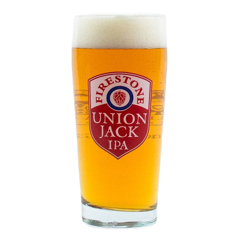 Firestone Walker Union Jack 20 oz Glass