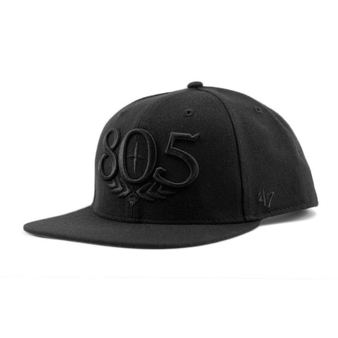 805 Black Out Hat