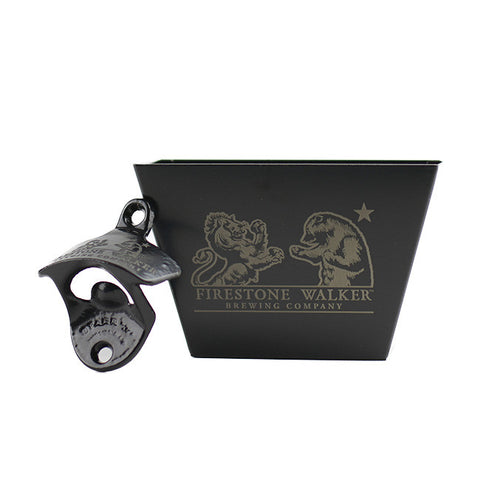 Firestone Walker Wall Mounted Bottle Opener with Cap Catcher