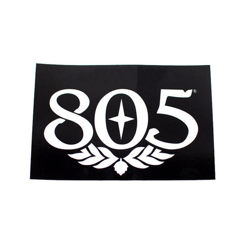 805 Surf Sticker